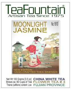 1610 China White Flower Tea Balls MOONLIGHT JASMINE