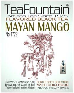 1722 Flavored Black Tea MAYAN MANGO Exotic Sweet Infusion