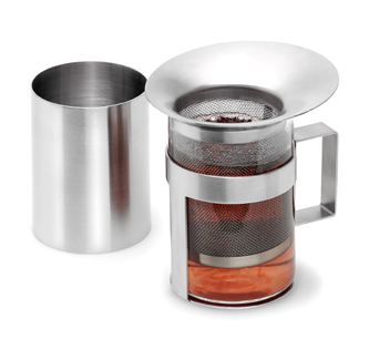 When Brewing Loose Tea A Good Quality And Right Sized Infuser Or Filter Is Essential To Separate The Leaves Herbs Fruits From Beverage
