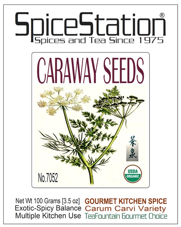 7052 SPICE STATION™ Gourmet Kitchen Spice CARAWAY SEEDS